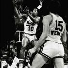The fourth-seeded Kings, 40-42 during the regular season and dealing with injuries to Otis Birdsong (left) and others in the playoffs, were not expected to be much of a match for Truck Robinson, Dennis Johnson and the rest of the top-seeded Suns, who posted the best regular season in franchise history (57-25). But the Kings raced to a 3-1 lead, lost two straight and then pulled out a 95-88 victory in Game 7 to advance to the conference finals, where they were ousted by Houston in five games.